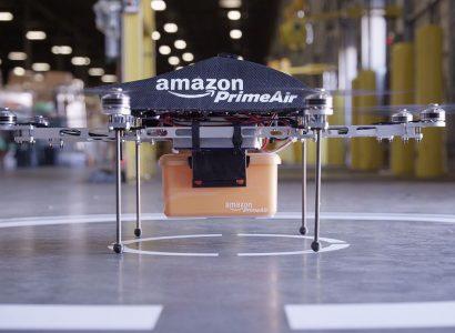 Amazon: la prima consegna via drone